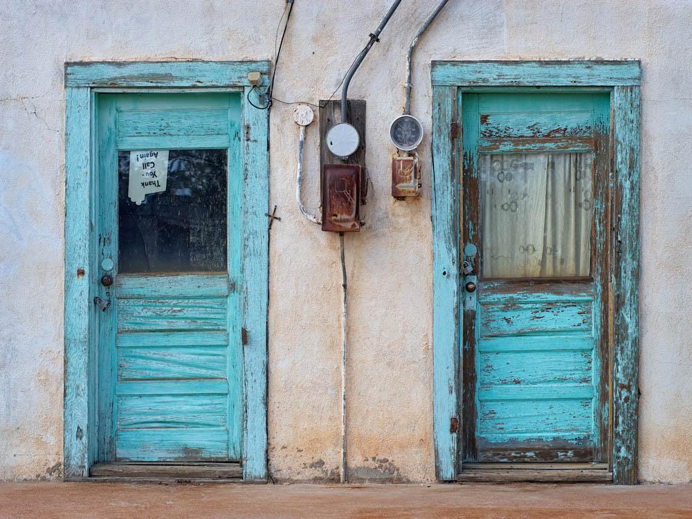 The Blue Doors of Encino