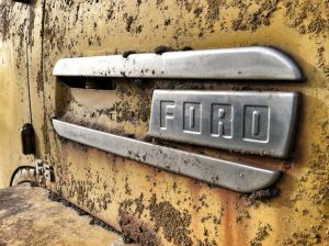 Encrusted Ford